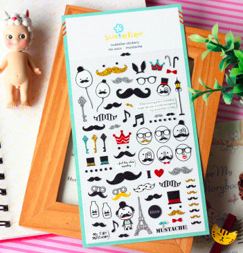Suatelier Sticker: Moustache