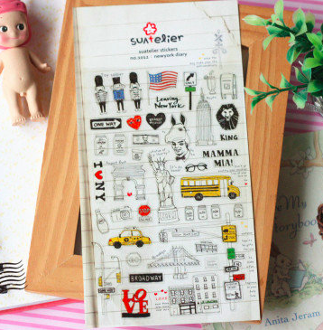 Suatelier Sticker: New York Diary
