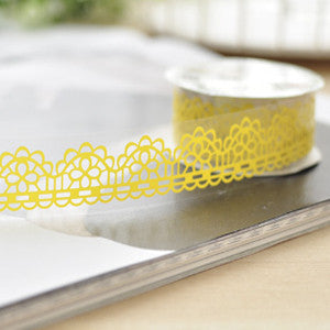 Transparent Lace Tape (Medium Size)