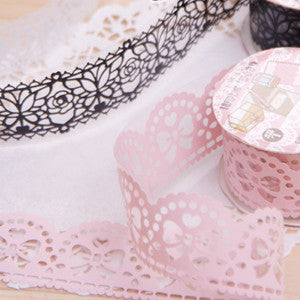 Transparent Lace Tape (Large Size)