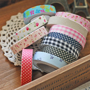 Washi Fabric Tape