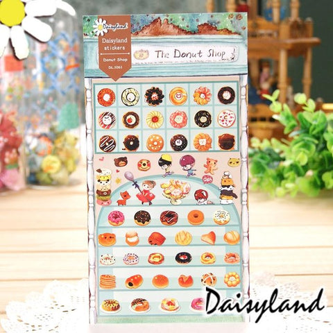 Daisyland Sticker: Donut Shop