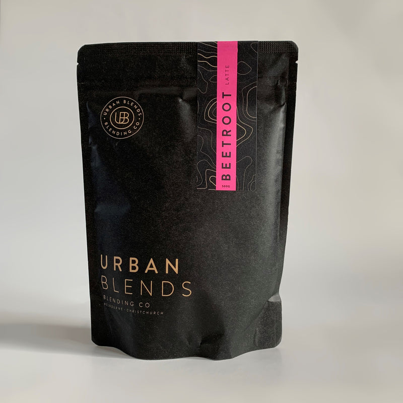 Urban Blends Pink Beetroot Latte