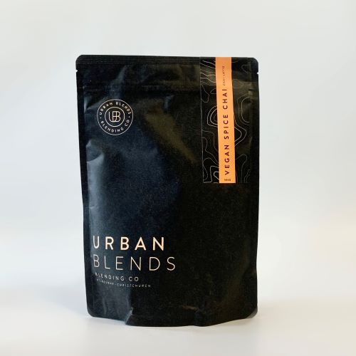 Urban blends vegan spiced chai latte