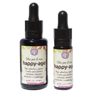 Olio Happy-Age - Per viso e collo
