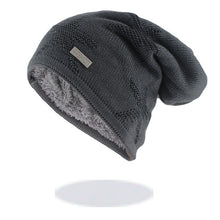 Load image into Gallery viewer, Hat For Adult Male Wool Beanies Knit Thick