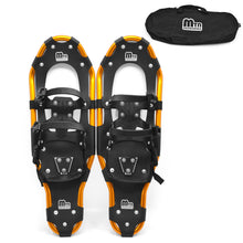 Load image into Gallery viewer, Snowshoes with Adjustable Bindings Ski Carrying Tote Bag