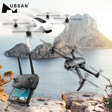 Drone Hubsan 4KM GPS 5G WiFi  with 4K UHD Camera 3-Axis Gimbal Sphere Panoramas