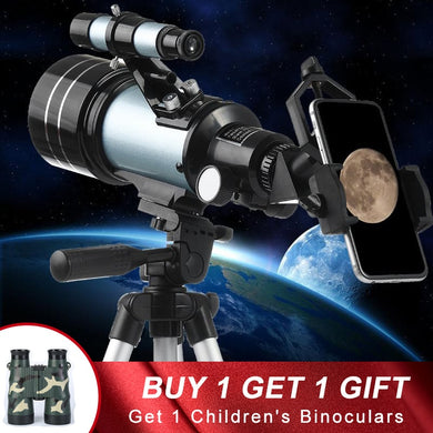 Telescope 150X Refractive Space Astronomical with Tripod Moon Watching