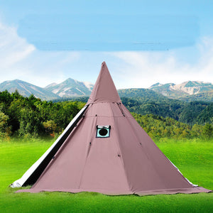 Tent Pyramid with a chimney hole