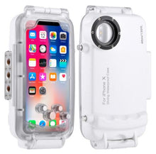 Load image into Gallery viewer, For iPhone X XS Underwater Diving Case 40m/130ft Waterproof