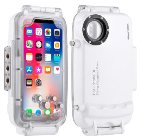 For iPhone X XS Underwater Diving Case 40m/130ft Waterproof