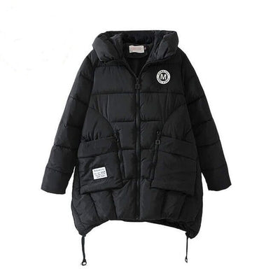 Jacket Women Thick Hooded Parka Bio Down High Quality