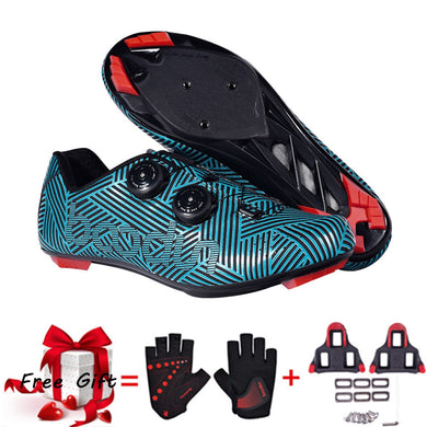 Bicycle Shoes ultralight Anti-skid Self-Locking