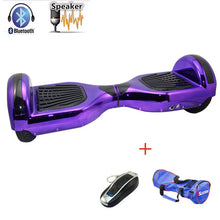 Load image into Gallery viewer, Hoverboard 6.5 inch bluetooth Chrome Electric Skateboard