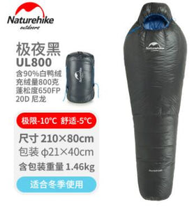 Sleeping Bag 90% Duck Down Sleeping Bag