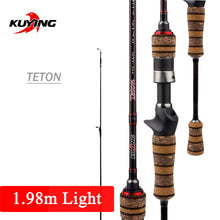 Load image into Gallery viewer, Fishing Rod Teton L Light