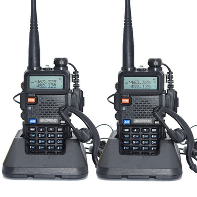 Walkie Talkie 128 Dual Band UHF&VHF Two Way Radio