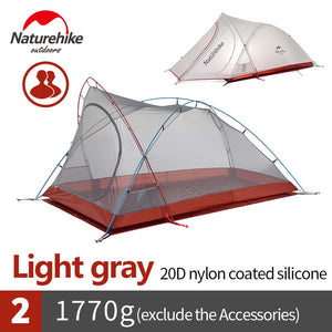 Tent Ultralight Tent 2 Person with free Mat