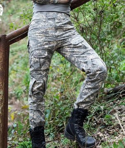 Pants Men's Military Snake Camouflage Tactical