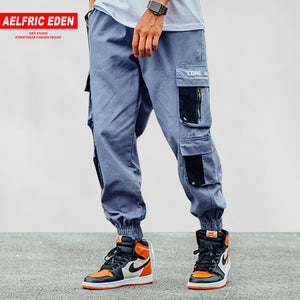 Pants Denim Harem Joggers Men Soft Jeans