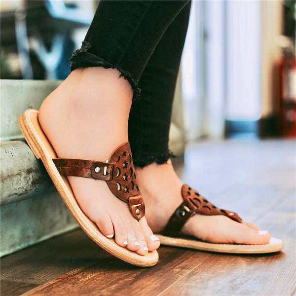 Women Flat Heel Flip Flops Casual Sandals
