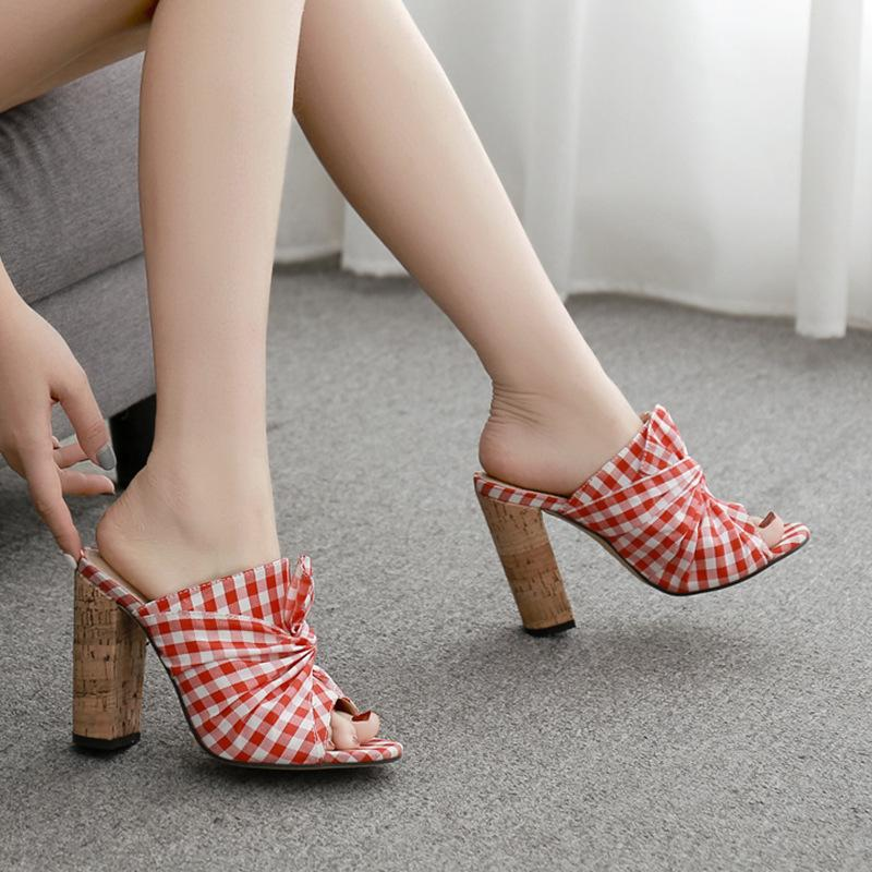 Women Fashion Pumps Summer High Heel Sandals