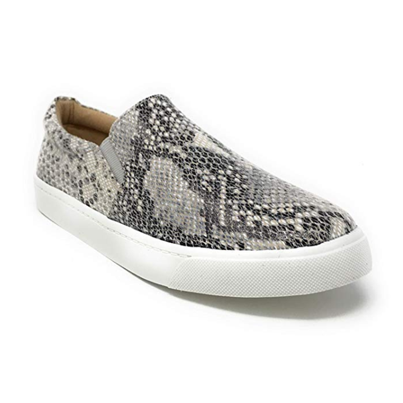 The Hadley Sneaker in Leopard Slip On Shoes