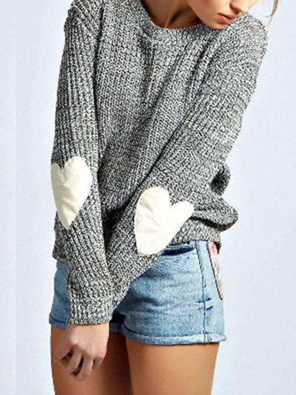 Women Casual Tops Knit Sweater