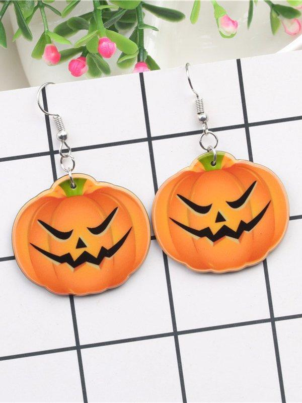 Halloween Pumpkin Earrings