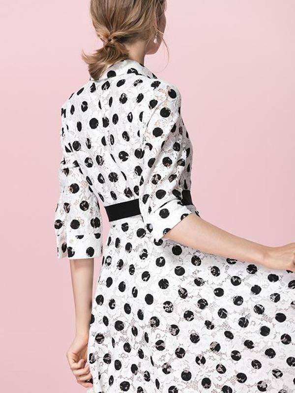 Women Polka Dot Printed Dress party dresses