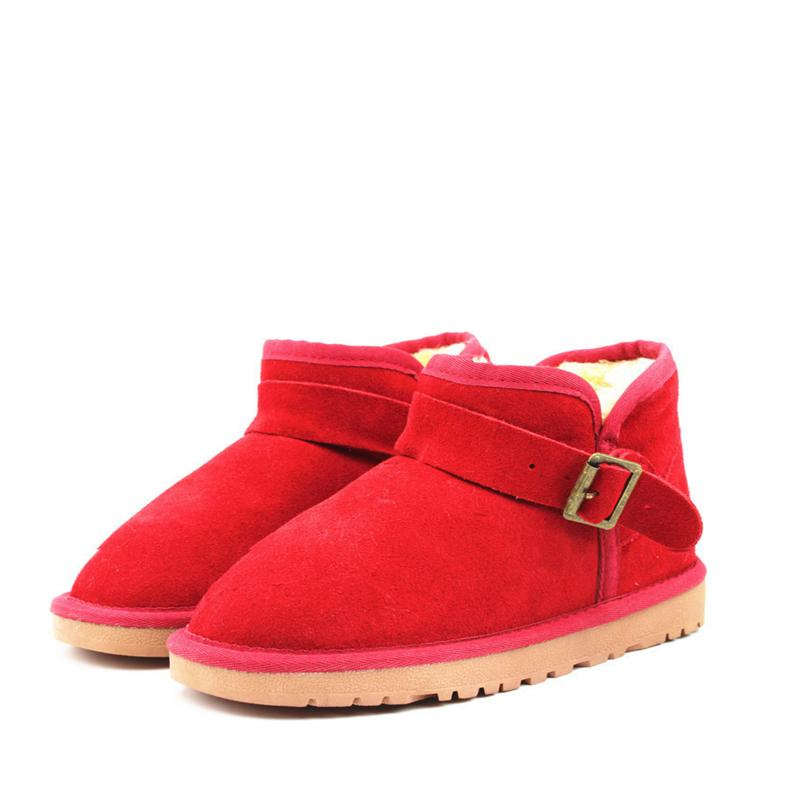 Women Fashion Ankle  Fur Snow Boots