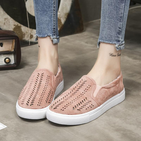 Women Daily Casual Slip-on Thin Shoes Loafers