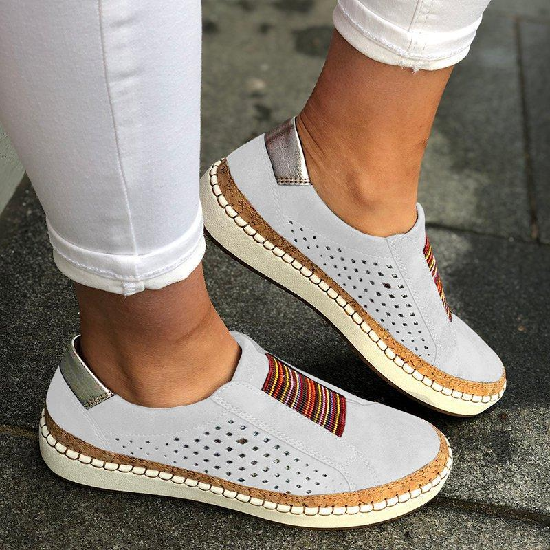 Slide Hollow-Out Round Toe Casual Women