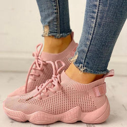 Women Net Surface Breathable Non-Slip Sneakers