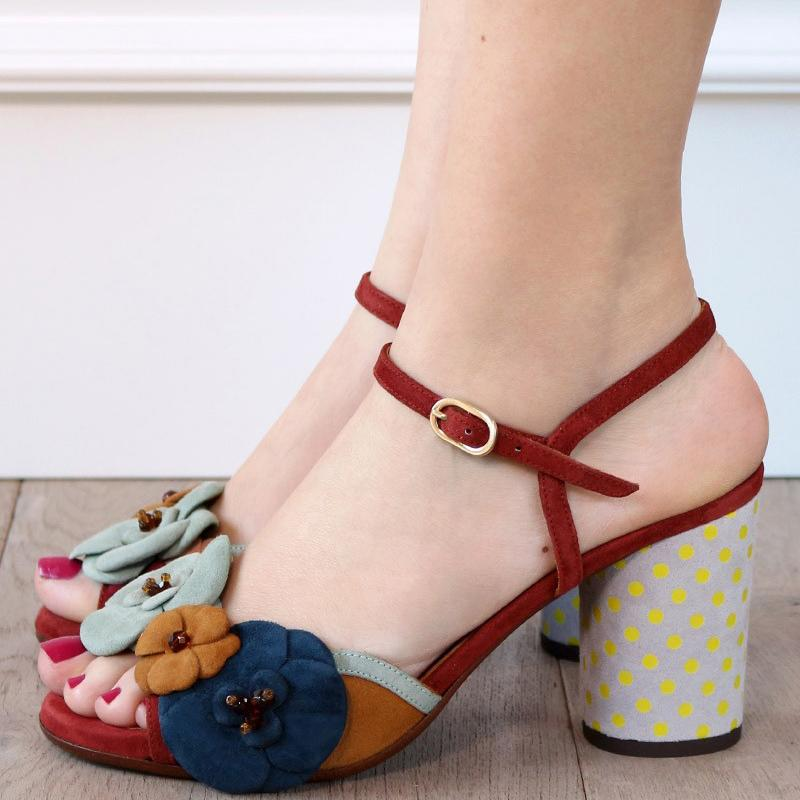 Women Pumps Sandals Buckle Elegant Shoes