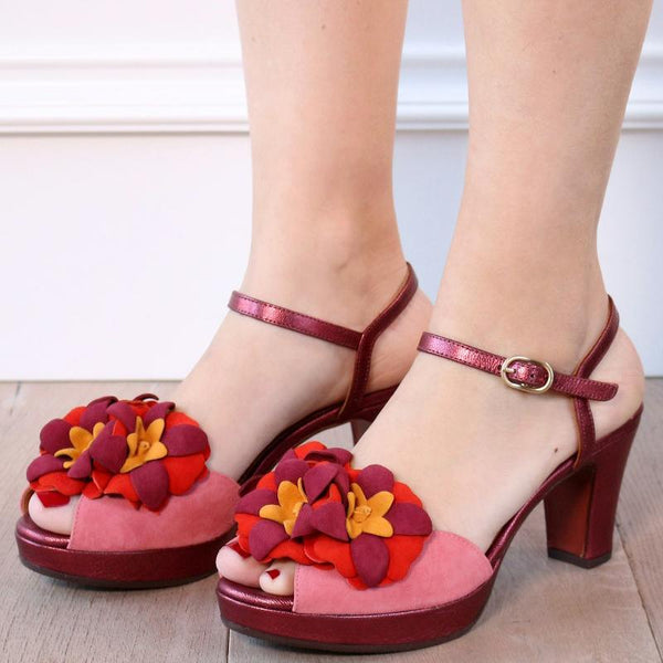 Women Elegant Platform Sandals Buckle Pumps
