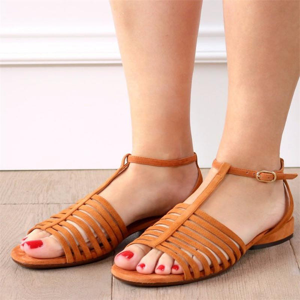 Summer Hollow-out Comfy Sandals For Women