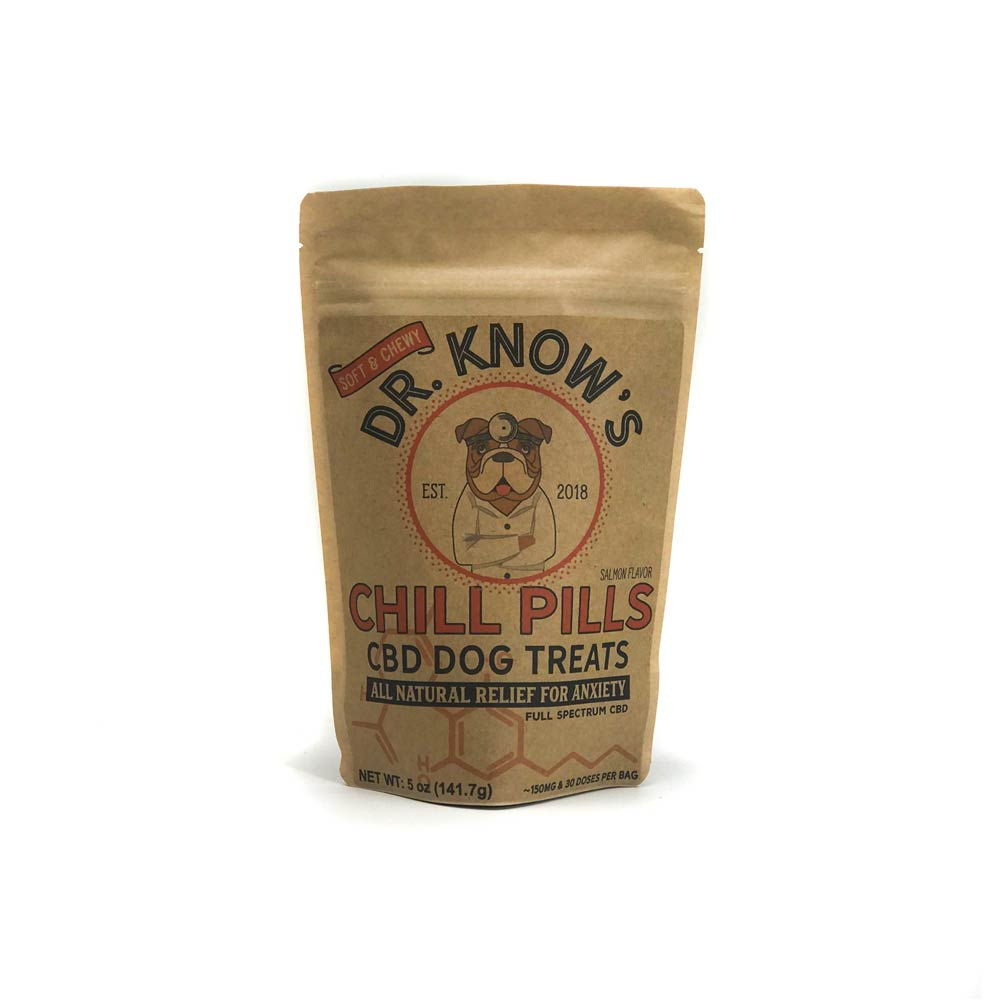 Dr. Know's Best Chill Pills CBD Dog Treats COA
