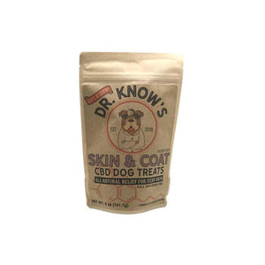Dr. Know's Skin & Coat CBD Dog Treats