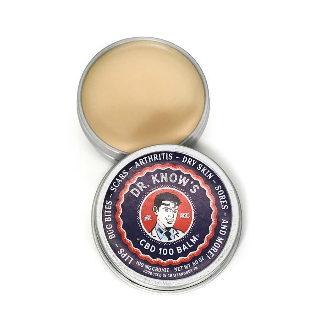 Dr. Know's CBD Balm 100mg - The Best Pain Balm