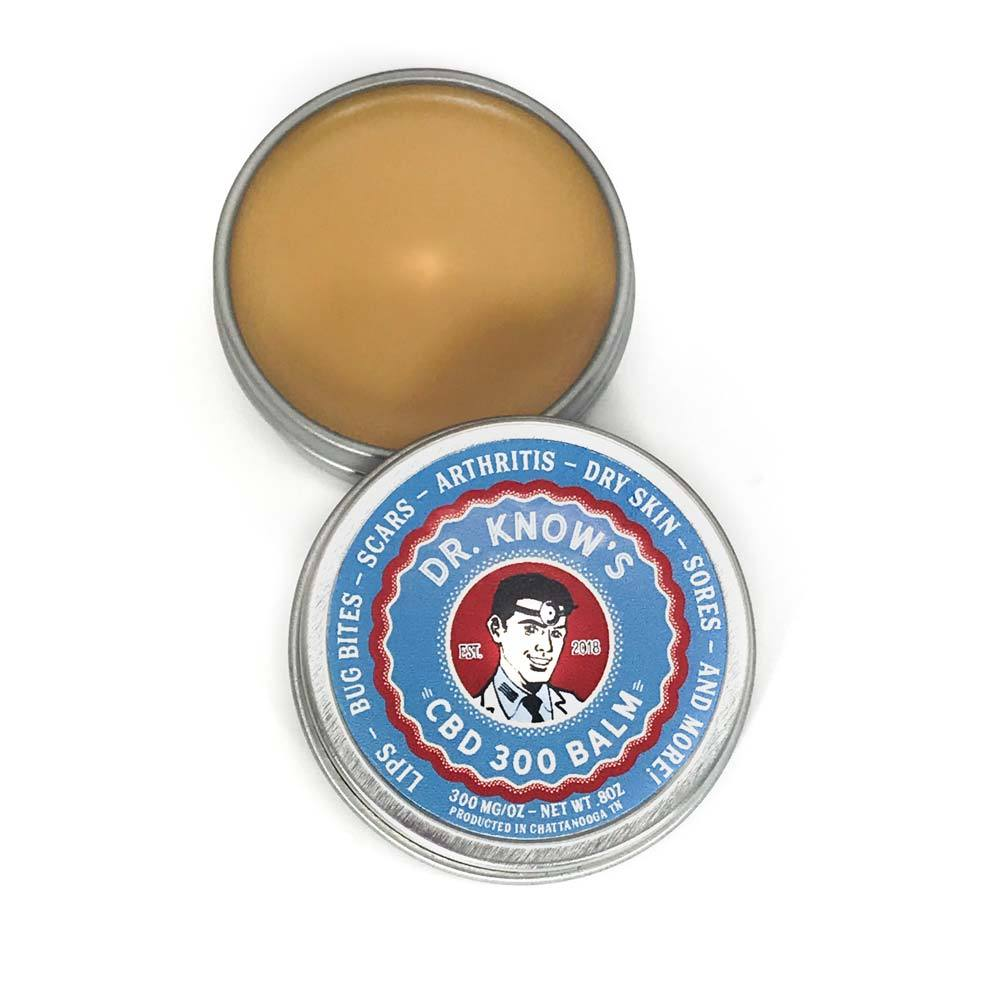 Dr. Know's CBD Balm 300mg - The Best Pain Balm