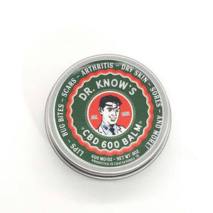Dr. Know's CBD Balm 600mg - The Best Pain Balm