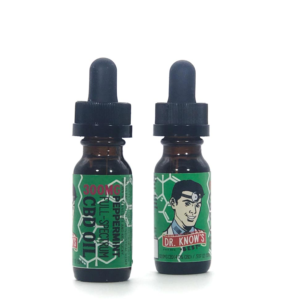 Dr. Know's Full-spectrum CBD Oil Natural Mint