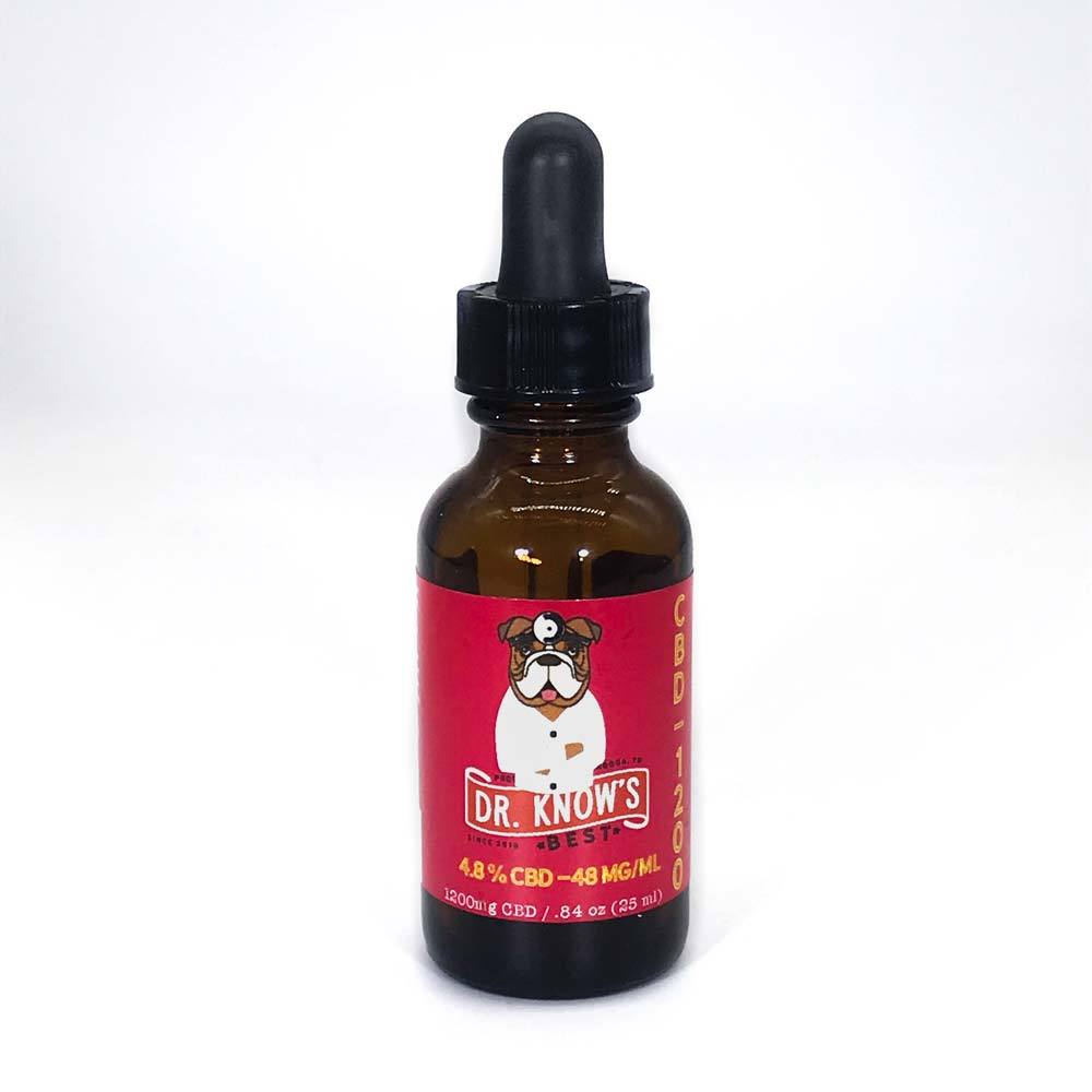Dr. Know's 1200 mg Full-Spectrum CBC Oil for Dogs and Cats