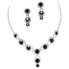 Black Bridal & Bridesmaid Jewelry
