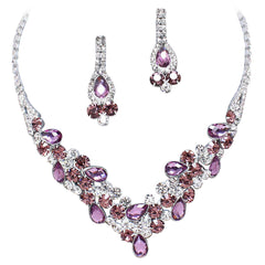 Purple Bridal & Bridesmaid Jewelry