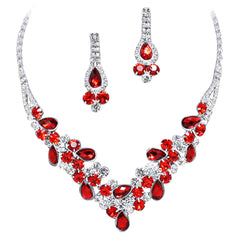 Red Bridal & Bridesmaid Jewelry
