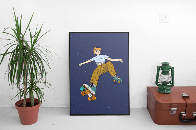 Skate Space - Art Print II