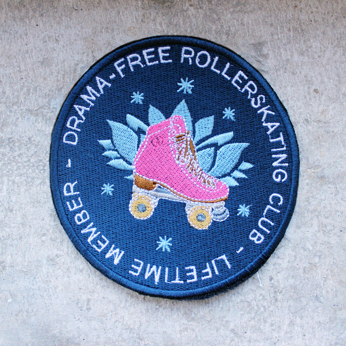 Drama-free Rollerskating Club - Patch